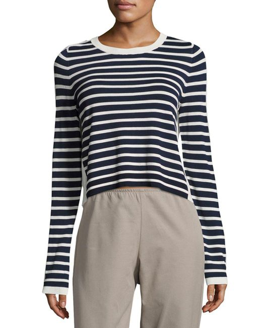 French Connection | Multicolor Cass Striped Knit Top | Lyst