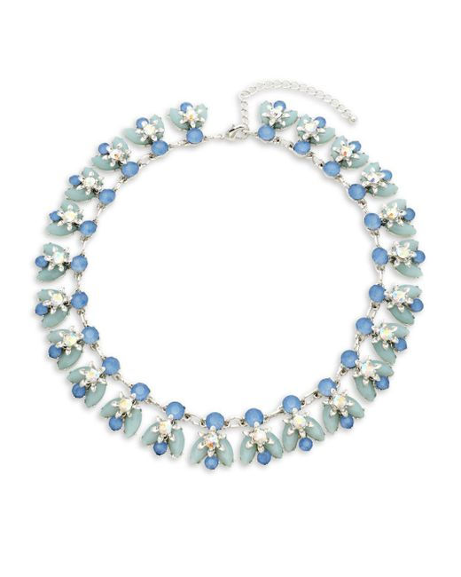 Saks Fifth Avenue - Metallic Crystal Collar Necklace - Lyst