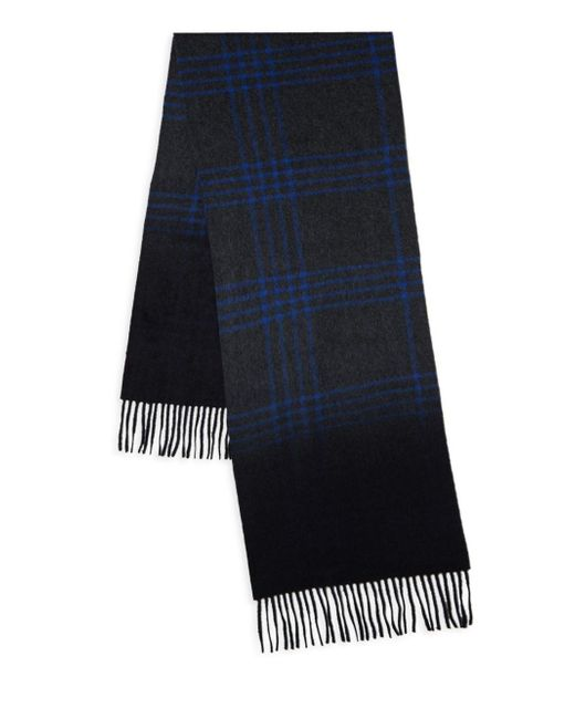 Saks Fifth Avenue - Blue Ombre Cashmere Scarf for Men - Lyst