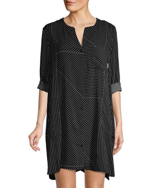 DKNY Black Classic Short Sleepwear