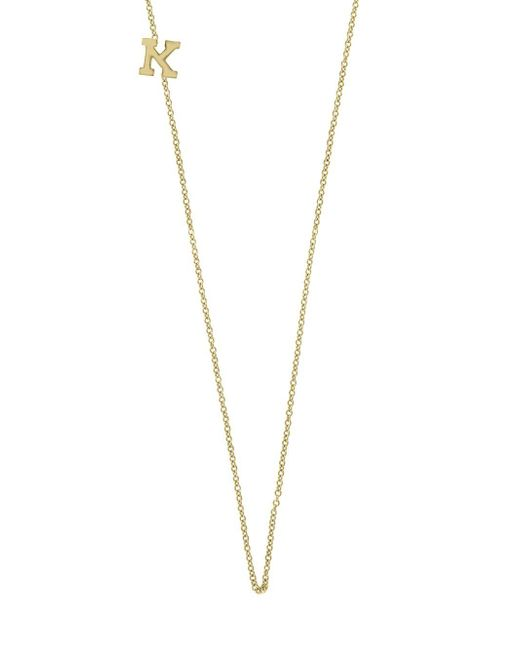 Effy Metallic 14k Yellow Gold Letter Station Necklace