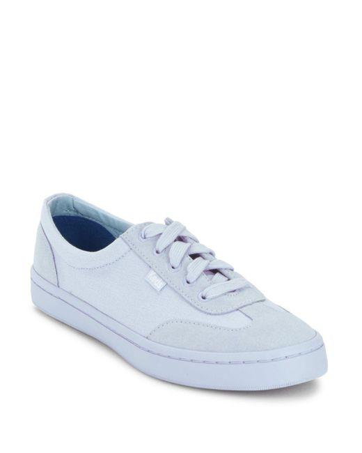 Keds - Blue Tournament Mono Sneakers - Lyst