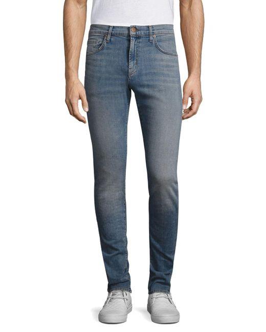 J Brand - Blue Mick Slim-fit Jeans for Men - Lyst