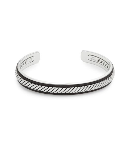 Effy - Metallic Leather And Sterling Silver Cuff Bracelet - Lyst