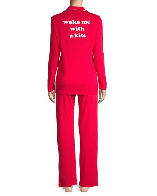 Cosabella - Red Two-piece Pajama Set - Lyst