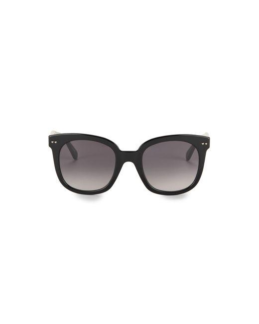 Kate Spade Black 50mm Square Sunglasses