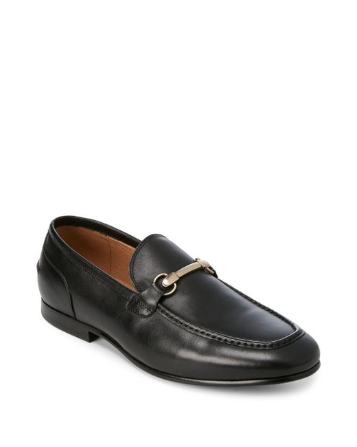 Saks Fifth Avenue - Black Firenze Leather Loafers for Men - Lyst