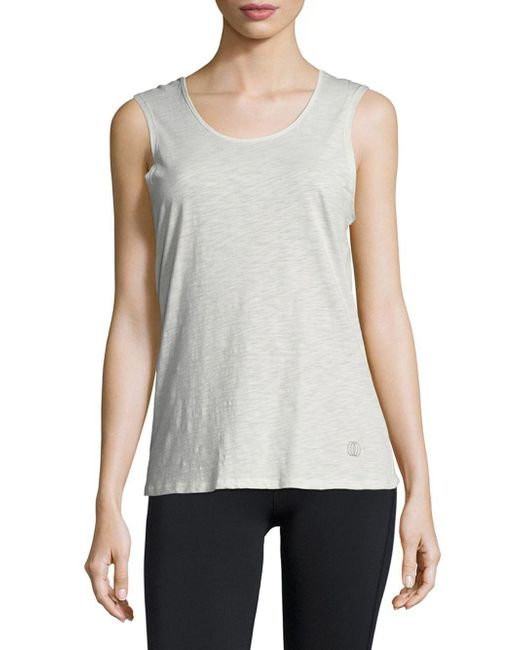 Balance Collection - Multicolor Claudia Cage Sleeveless Tee - Lyst