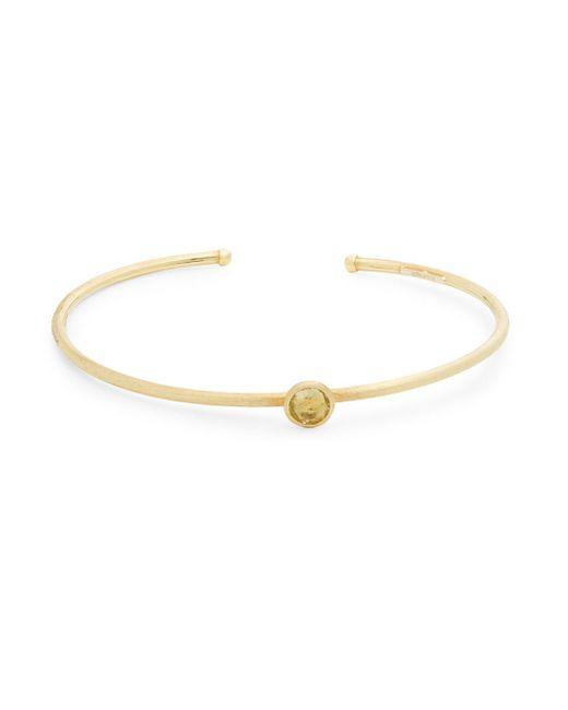 Marco Bicego - Metallic 18k Yellow Gold Hand Engraved Bangle Bracelet - Lyst