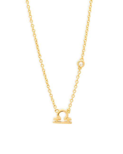 Shy By Sydney Evan - Metallic Libra Diamond & Sterling Silver Pendant Necklace - Lyst