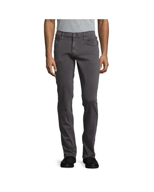 Hudson Black Supreme Cotton-blend Jeans for men