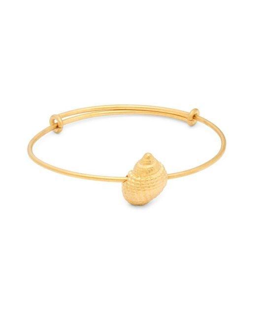 Valentino | Metallic Matte Goldtone Charm Bracelet | Lyst