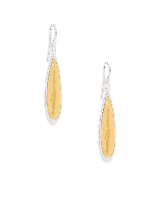 Gurhan   Metallic Sterling Silver Dangle & Drop Earrings   Lyst