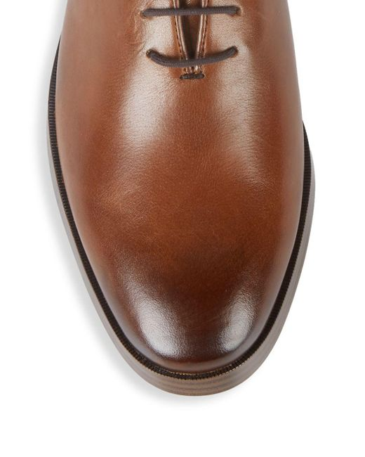Discover super cute promotion Cole Haan Jefferson Wholecut Leather Oxfords in Brown for ...