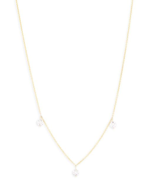 KC Designs - Metallic Diamond And 14k Yellow Gold Charm Necklace - Lyst