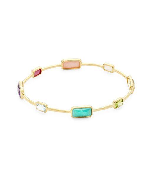 Ippolita - Metallic Rock Candy Semi-precious, Multi-stone And 18k Gold Bracelet - Lyst