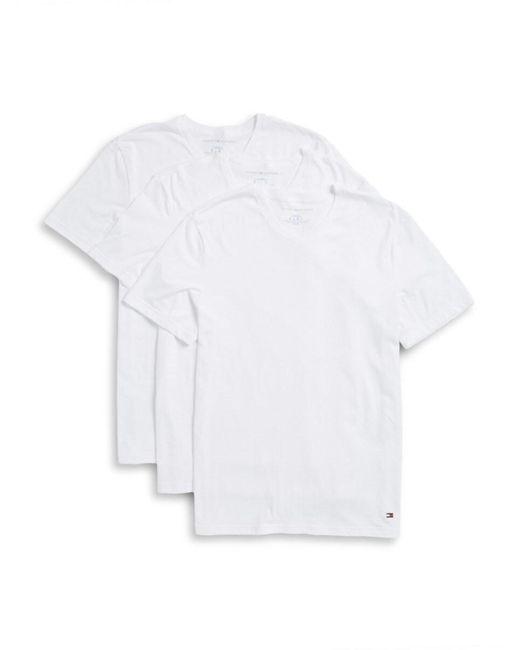 Tommy Hilfiger Gray Men's 3-pack V-neck Tee Set - Grey - Size Xl for men