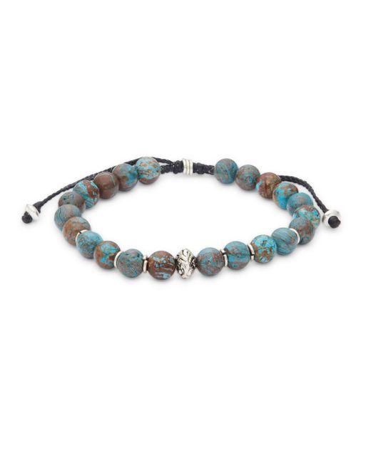Saks Fifth Avenue - Blue Polished Single Strand Bracelet - Lyst
