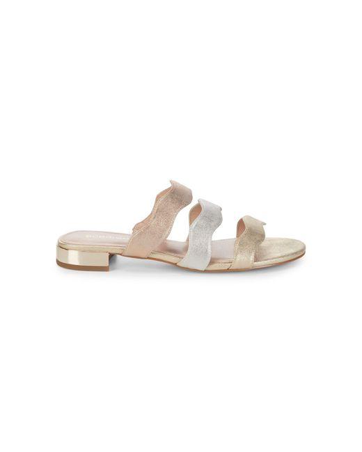 BCBGeneration Dania Metallic Sandals