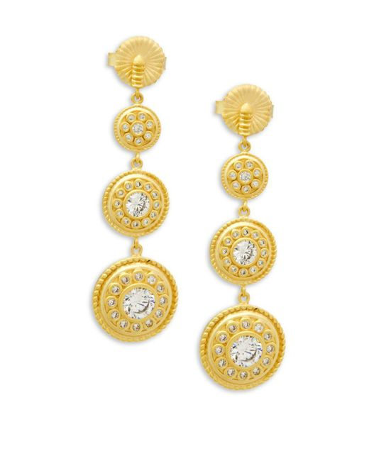 Freida Rothman - Metallic Nautical Multi Drop Earrings - Lyst