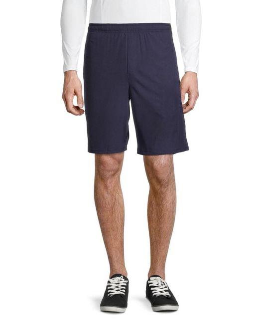 Spyder Blue Men's Drawstring Bermuda Shorts - Dust Navy - Size L for men