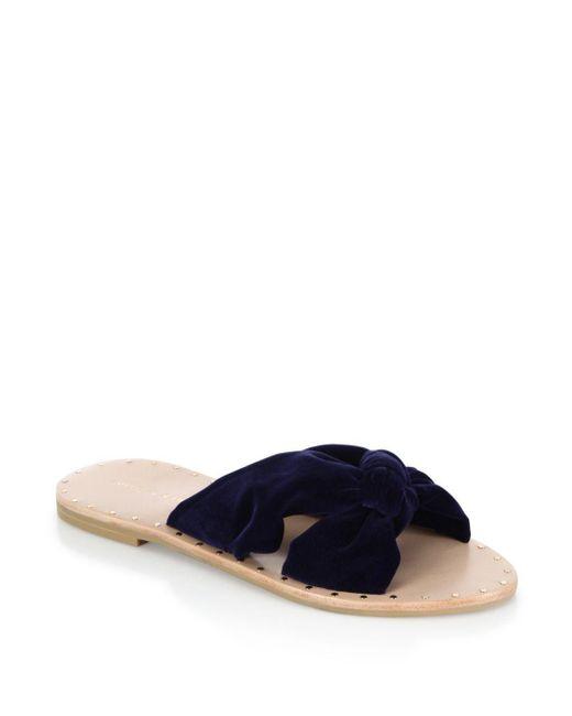Women's Lucia Studded Knot Slide Sandal