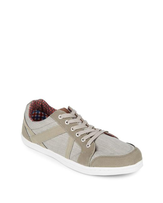 Ben Sherman - Gray Lace-up Sneakers for Men - Lyst