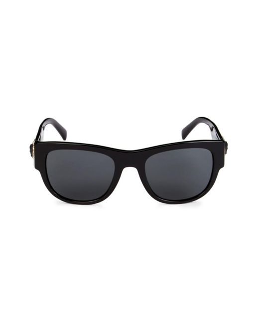 Versace Black 55mm Square Sunglasses