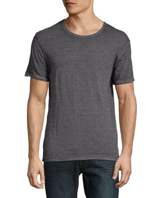 ELEVEN PARIS - Gray Short Sleeve Tee for Men - Lyst