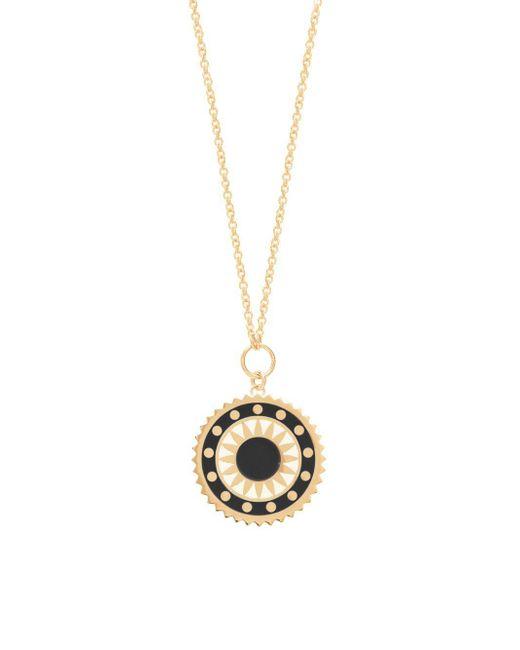 Gabi Rielle - Metallic Sun Medallion Pendant Necklace - Lyst
