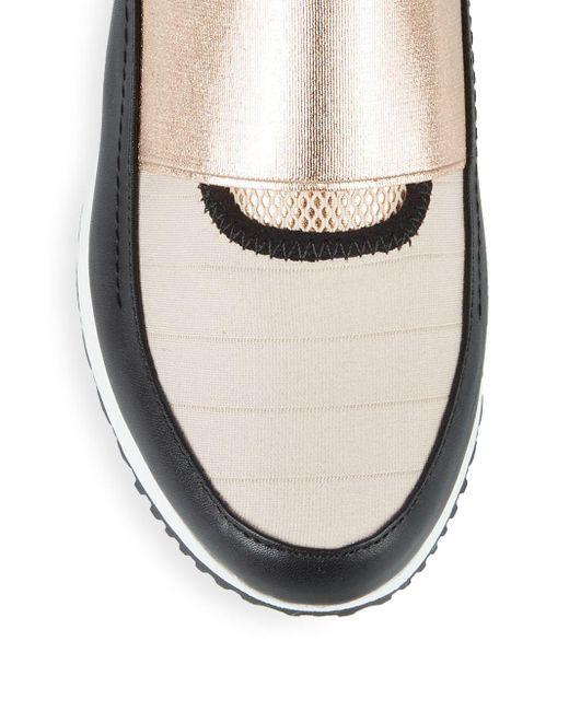 5a5cbc83226 ... Steve Madden - Metallic Haro Colorblock Slip-on Sneakers - Lyst ...