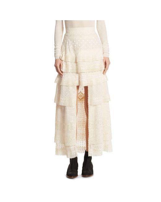 Zimmermann Natural Freedom Hi-lo Skirt