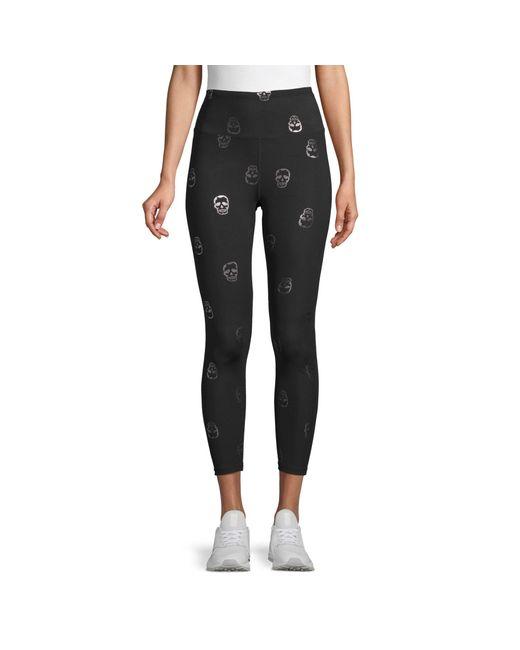 L NWT Mens $62 Onzie Yoga Core Capri Crop Pants Tights in Charcoal Gray sz M