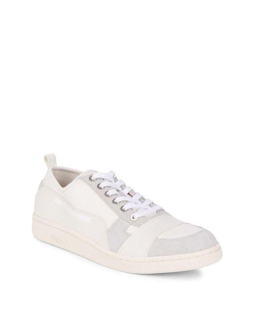 Alexander McQueen X Puma   White Mcq Serve Low Top Sneakers for Men   Lyst