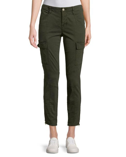 J Brand - Green Mid-rise Houlihan Cargo Pants - Lyst