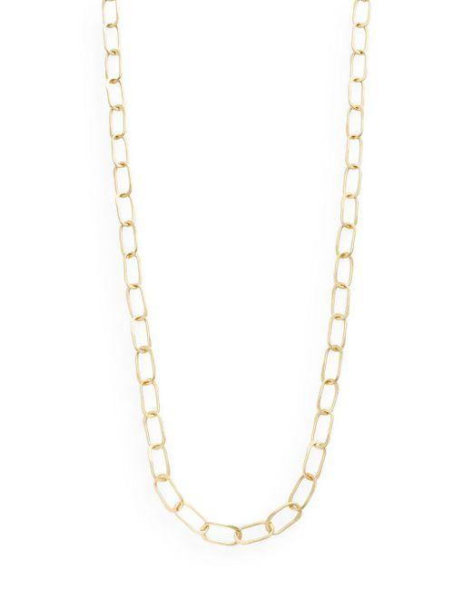 "Stephanie Kantis - Metallic Sovereign Hammered Chain Link Necklace/36"" - Lyst"