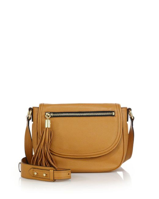 MILLY - Multicolor Astor Leather Saddle Bag - Lyst