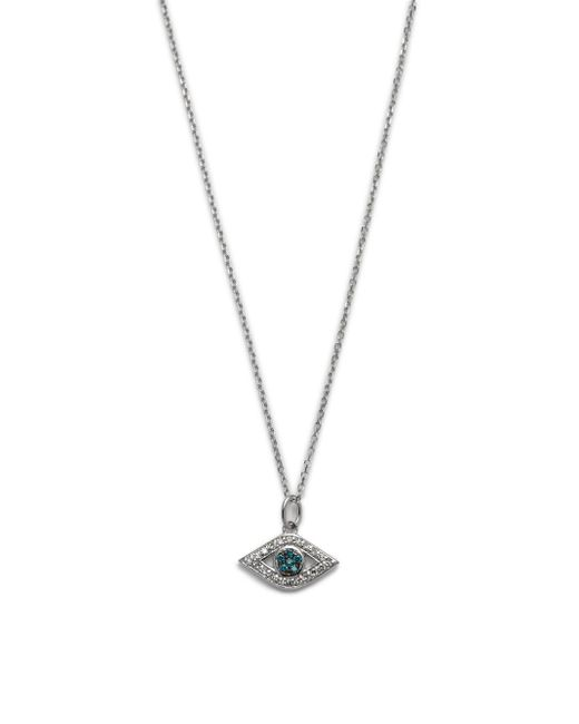 KC Designs - Metallic Diamond & 14k White Gold Pendant Necklace - Lyst
