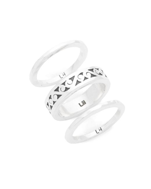 Lois Hill - Metallic Cutout Hammered Ring - Lyst