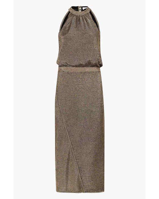 Sass & Bide - Metallic Nightbreaker Dress - Lyst