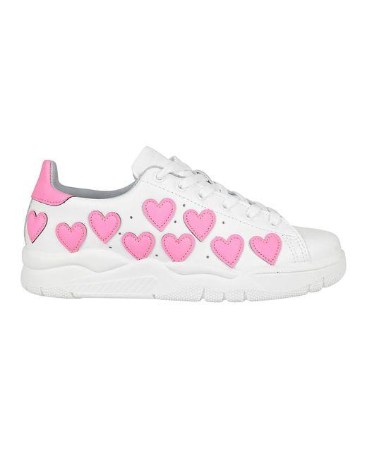 Chiara Ferragni - Multicolor Hearts Sneaker - Lyst