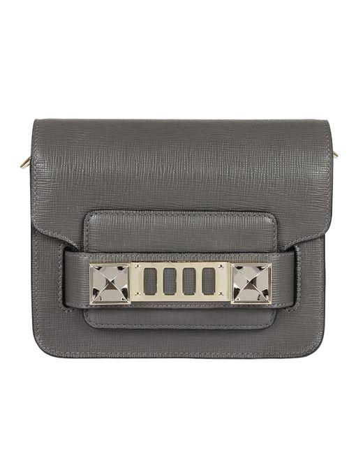 Proenza Schouler - Gray Ps11 Crossbody Bag - Lyst