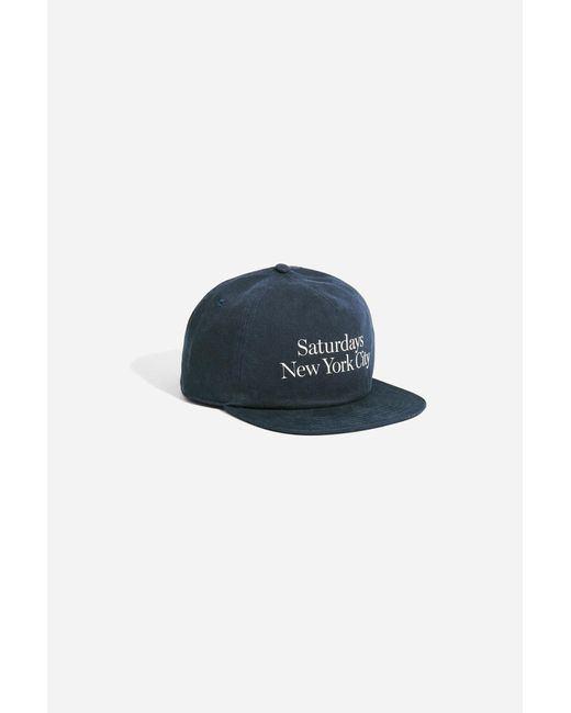 Saturdays NYC - Blue Stanley Washed Miller Hat for Men - Lyst