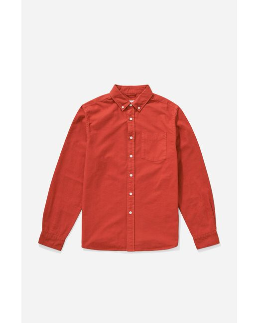 Saturdays NYC - Red Crosby Oxford Button Down Shirt for Men - Lyst