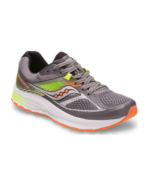 Saucony | Gray Guide 10 for Men | Lyst