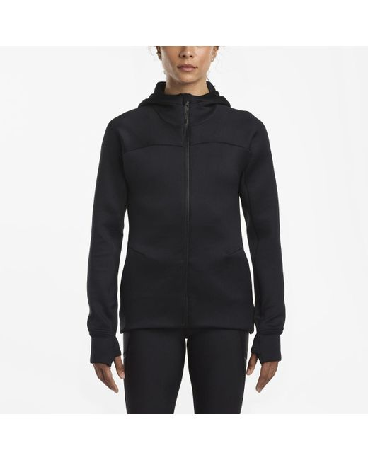 Saucony | Black Life On The Run Hoodie | Lyst