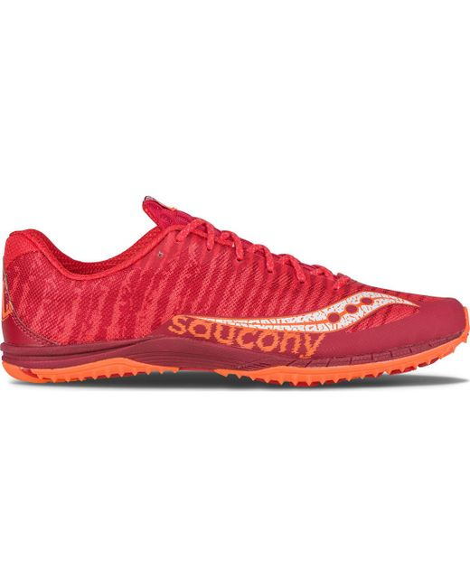 Saucony | Red Kilkenny Xc Flat for Men | Lyst ...
