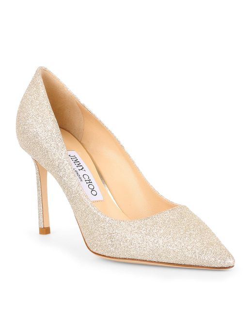 Jimmy Choo | Multicolor Romy 85 Dusty Glitter Pump | Lyst