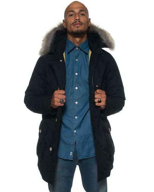 Woolrich | Black Arctic Down Parka for Men | Lyst