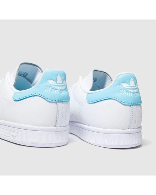 blue stan smith trainers